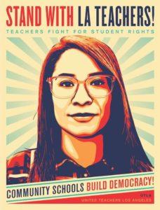 Labor, community mobilize to support LA teachers strike