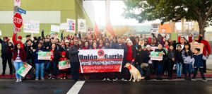 LA teachers and community unite