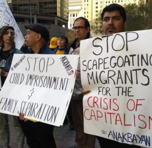 San Diego protests condemn abuse of refugees