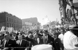 On Martin Luther King Day, Detroit rallies for jobs, peace and justice