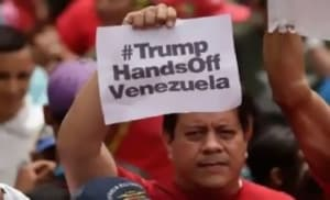 U.S. sets up war on Venezuela