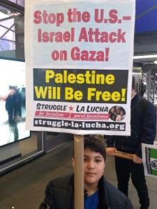 New York protest says: Long live Gaza!