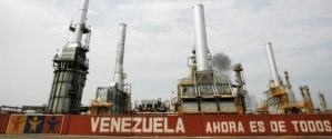Who is responsible for the economic crisis in Venezuela?