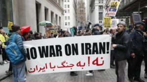 Stop U.S. war on Iran