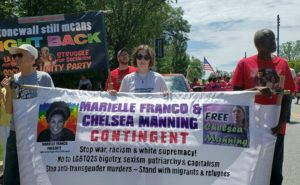 Baltimore Pride weekend: Anti-imperialist contingent lifts up Chelsea Manning and Marielle Franco