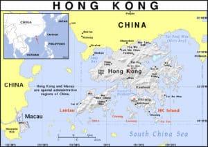 Hong Kong and the U.S. cold war on China