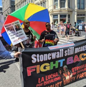 Pride rings out in New York streets: 'Stonewall still means fight back!'