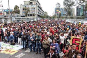 U.S. hands off the Colombian and Venezuelan people!