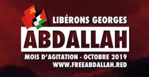 International call for month of action for Georges Abdallah