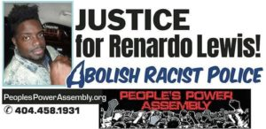 Justice for Renardo Lewis - come to court Oct. 1
