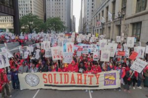 Chicago teachers strike continues