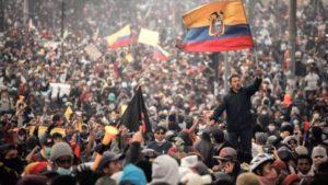 Moreno declares curfew and militarization of Quito, Ecuador