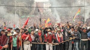 Defying repression, tens of thousands of Ecuadorians take part in national strike