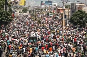 Haiti gripped by protests