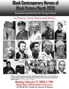 Honoring Black Contemporary Heroes for Black HistoryMonth 2020
