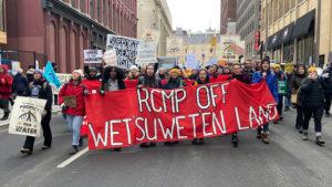 Unist'ot'en matriarchs arrested. Stand with Unist'ot'en now!